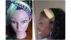 DIY Couture Facile Débutant | Coudre un Headband/ Bandeau croisé en wax