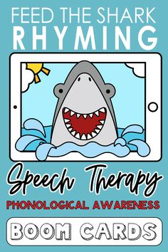 Add this ocean-themed phonological awareness deck to your pirate, ocean or animal-themed unit. Kids will love feeding the rhyming words to the shark as you work on phonological awareness.