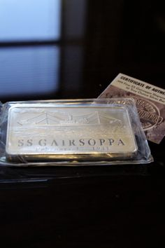 Plastic Wrapped USS Constitution 10oz Poured Silver Bar New