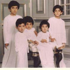 Rashid, Ahmed, Maktoum, Saeed y Hamdan bin Mohammed bin Rashid Al Maktoum