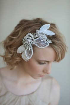 LOVE THIS from Twigs & Honey!  It runs for 225 dollars!  I've purchased a rose brooch & flowers to decorate this for the total price of 30 dollars!  Bam! DIY Bride! :0)
