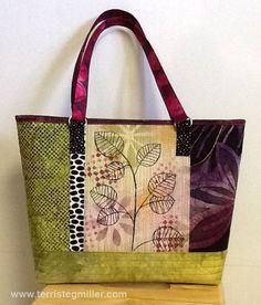 Terri Stegmiller Art And Design Diy Bags Purses Purse Handmade