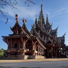 The Sanctuary of Truth, Pattaya, Thailand.