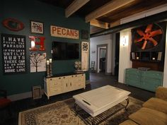 Great color scene.  Love all of it. Line of Sight - A Hatmaker Home Renovation on HGTV