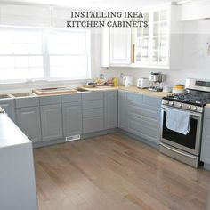 Ikea Kitchen Cabinets Gray tips & tricks for buying an ikea kitchen | kitchens, house and