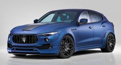 Novitec's Maserati Levante Esteso Is Wider Than A Hummer, Quicker Than A Cayenne