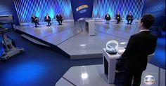 Seis candidatos à Prefeitura de SP participam de debate na TV Globo