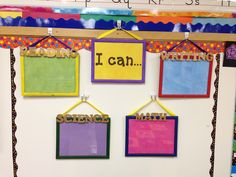 Routines: This example is a good way to support learning and develop global competency. Daily objectives for subjects are written in dry-erase marker in plain view of the entire class. By purchasing inexpensive frames, this teacher came up with a routine that establishes daily classroom norms and creates a culture unique to their community. I think if I were to use this in my class, I would try and find some larger frames so that objectives could be viewed from any distance within the…