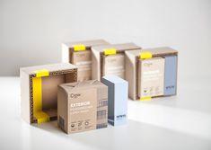Packaging : Crew kit pour peinture par Alireza Jajarmi - Blog Esprit Design
