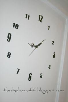 DIY Door Clock and DIY Project Parade