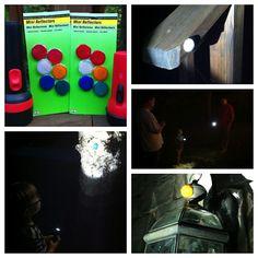 nighttime reflector hunt