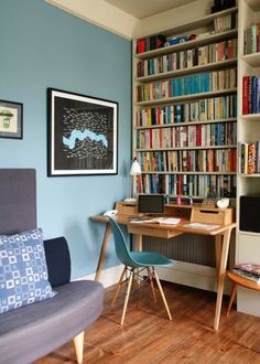 Small Home Office Design Ideas Inspiring Goodly Small Home Office Home Design Ideas Pictures Cheap Home Design, Home Office Design, Home Office Decor, Office Ideas, Home Decor, Office Designs, Desks For Small Spaces, Small Home Offices, Home Office Space