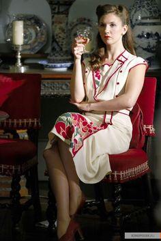 Nancy Morrell - Summer Strallen in Land Girls, set in the 1940s (BBC TV series 2009-2011).