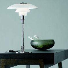 PH 3/2 table lamp — Poul Henningsen for Louis Poulsen (1927)