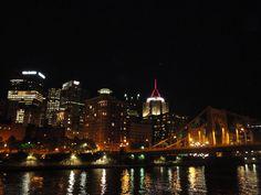 Pittsburgh  Sissie Harris :)