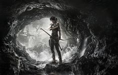 Video Game Art - Tomb Raider survival cover artwork
