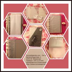 Succes Agenda Senior size inserts (ruler/page marker, card holder,folder, top opening pouch) for Mulberry Agenda