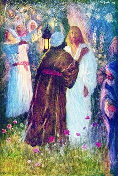www-St-Takla-org--judas-kisses-jesus-in-the-garden.jpg (1272×1902)