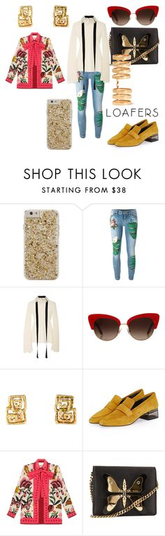 """Sin título #32"" by blancadiaz-1 ❤ liked on Polyvore featuring Case-Mate, Dolce&Gabbana, E L L E R Y, Topshop, Gucci and Repossi"
