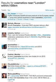 Using Twitter to Locate New Customers or Prospects