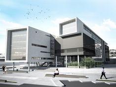 1. Ödül - Yozgat İl Genel Meclisi - İl Özel İdare Binası ve AVM Ulusal Mimari Proje Yarışması - kolokyum.com