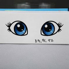 Coloring eyes with Copics