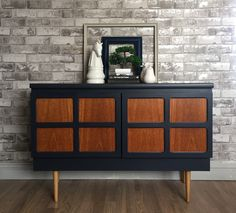 Nathan retro mcm sideboard available in our Etsy shop Link in bio Hand Painted Furniture, Retro Furniture, Bespoke Furniture, Refurbished Furniture, Upcycled Furniture, Furniture Makeover, Home Furniture, Cabinet Furniture, Retro Sideboard