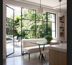 Interior french doors add a beautiful style and elegance to any room in your home. The Design Files, Küchen Design, Door Design, Glass House Design, Home Interior, Interior Design Kitchen, Interior Doors, Interior Office, Harvey House