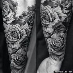 Image result for tattoos for men roses
