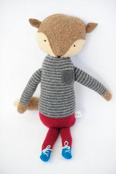 Wool fox by Erin Weiss