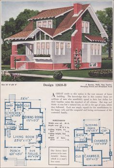 1925 C.L. Bowes 12638B.      I am in love. When I built a house it will be like this!!