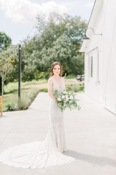 Photo taken at THE SPRINGS Event Venue by FulleyLove Photography. Follow this pin to our website for more information, or to book your free visit! SPRINGS location: Wallisville, TX | bridals | wedding photos | boho dress | unique wedding dress | vintage dress | neutral wedding colors | wedding dress | photo ideas | white barn style wedding venue | wedding venues near Houston | Texas wedding | Houston area wedding photographer | #placestogetmarried #SPRINGSvenue