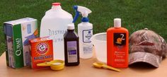 Ingredients for DIY Scent Control Spray Bow Hunting Deer, Quail Hunting, Coyote Hunting, Whitetail Hunting, Hunting Gear, Deer Attractant, Homemade Laundry Detergent, Hunting Accessories, Hunting Clothes