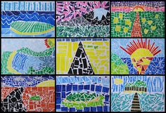 Art With Mr Hall: year 6 lots of different ideas excellent junior lessons