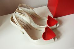 I will wear Vivienne Westwood shoes on my wedding day.