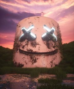 Emoji Wallpaper, Cool Wallpaper, Wallpaper Backgrounds, Dope Wallpapers, Gaming Wallpapers, Fantasy Kunst, Fantasy Art, Marshmello Wallpapers, Post Apocalyptic Art