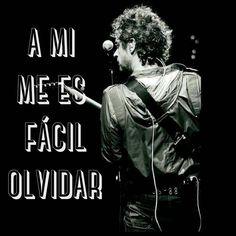 """A mi me es fácil olvidar.. #GustavoCerati #Cerati"" Soda Stereo, Music Quotes, Karaoke, Rock And Roll, Love Quotes, Positivity, Instagram Posts, Movie Posters, Asd"