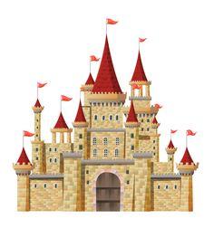 "Photo from album ""Замки"" on Yandex. Castle Clipart, Castle Illustration, Castle Drawing, Cardboard Box Crafts, Cardboard Castle, Episode Interactive Backgrounds, Disney Phone Wallpaper, Princess Castle, Disney Princess"