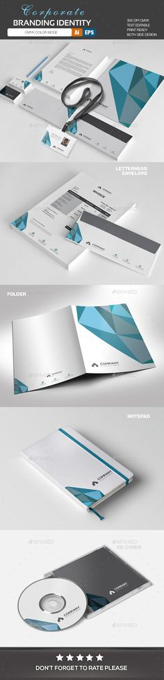 Corporate Identity - Stationery Print Templates Download here: https://graphicriver.net/item/corporate-identity/20121439?ref=classicdesignp