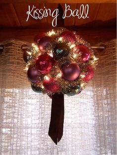 1000 Ideas About Kissing Ball On Pinterest Silk Flowers