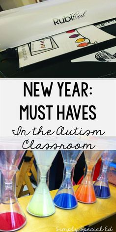 Must haves for the New year in your autism classroom!