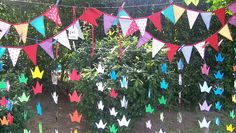 origami banners- adorbs