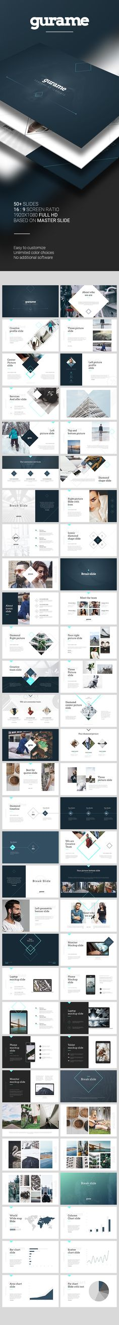 Gurame PowerPoint Template. Download here: https://graphicriver.net/item/gurame-powerpoint-template/16959387?ref=ksioks