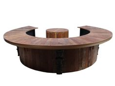 Rustic Breakfast Bar | Back to Bars - Half or Complete Rustic Round Bar – Product Code ...