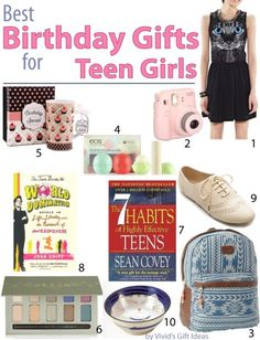 Unique birthday gifts for teenage girls http://vividgiftideas.com/2014/03/03/birthday-gift-ideas-for-teen-girls/