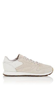8db4407fad94 Classic Nubuck   Leather Sneakers White Sneakers