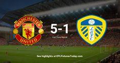 Leeds United, Manchester United, Premier League Fixtures, Trafford, Juventus Logo, The Unit, Man United
