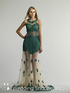 This is a very unique prom dress... what do you think? Dave and Johnny 10589