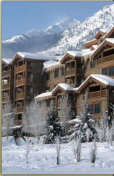 Teton Mountain Lodge & Spa. Stayed here for our Honeymoon, was awesome!!