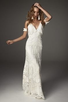1bd94e2ceec9 MOON wedding dress by Rue De Seine Bohemian Wedding Dresses
